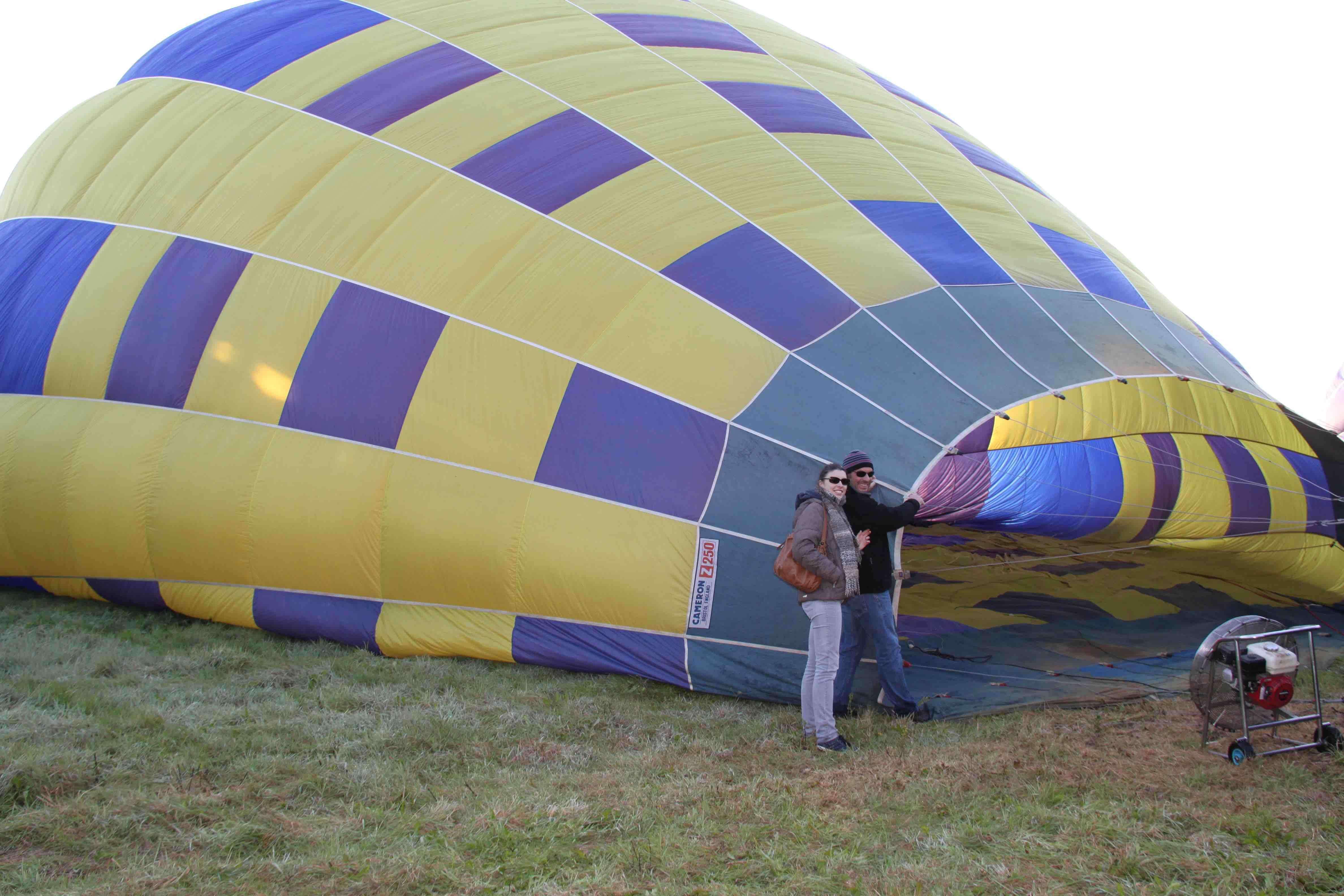 Balade en montgolfière picardie
