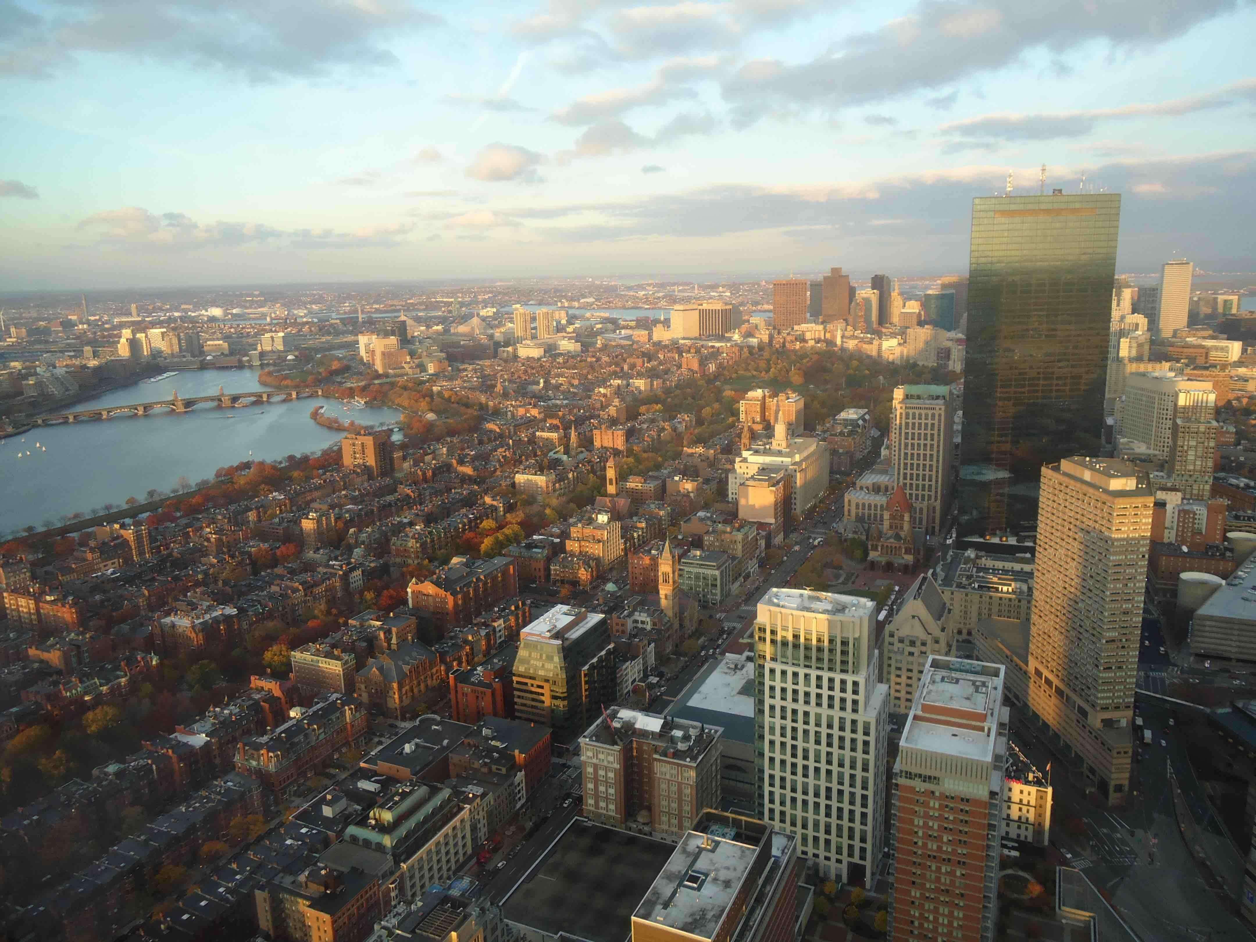 Boston vu du ciel