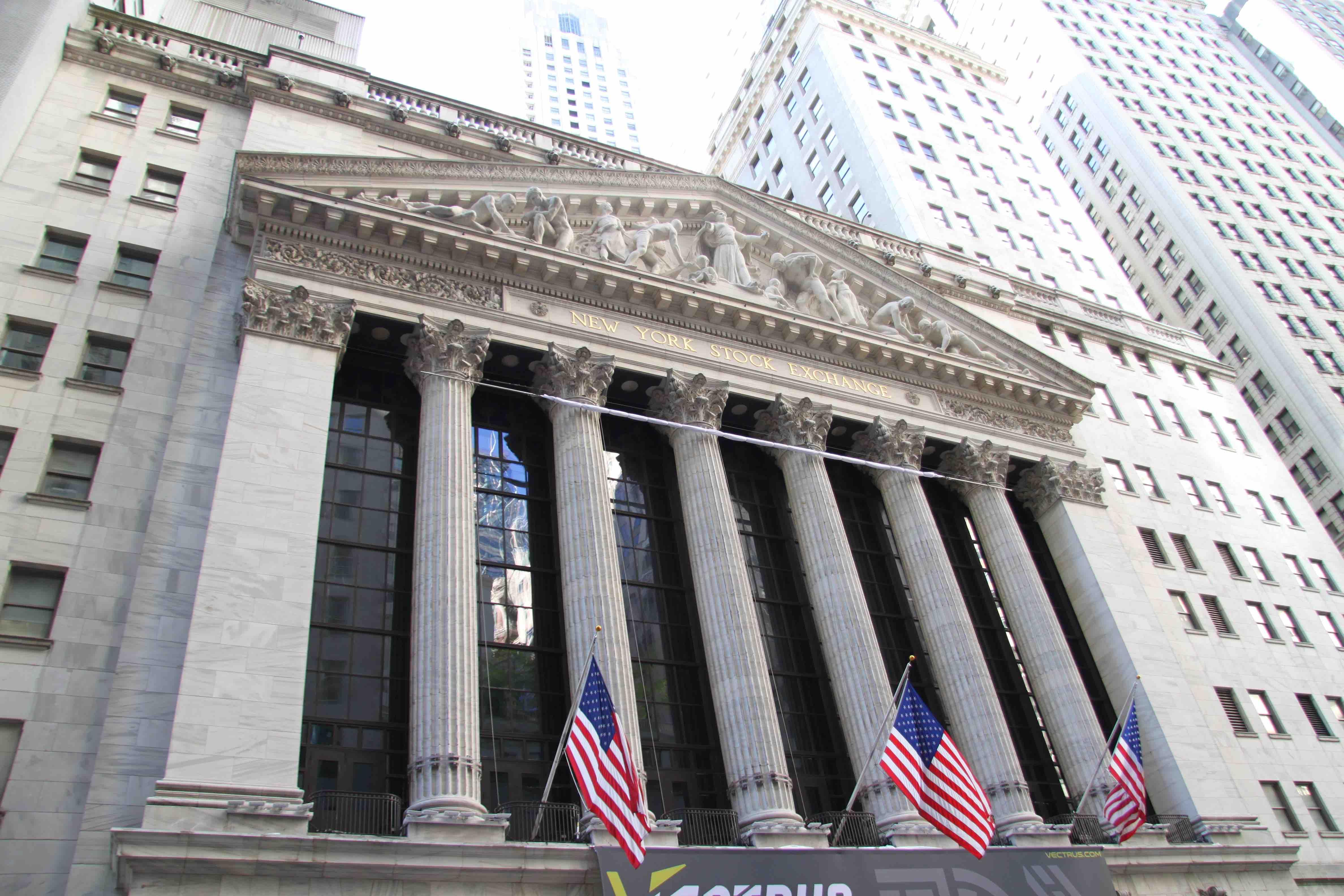 visiter new york Wall Street