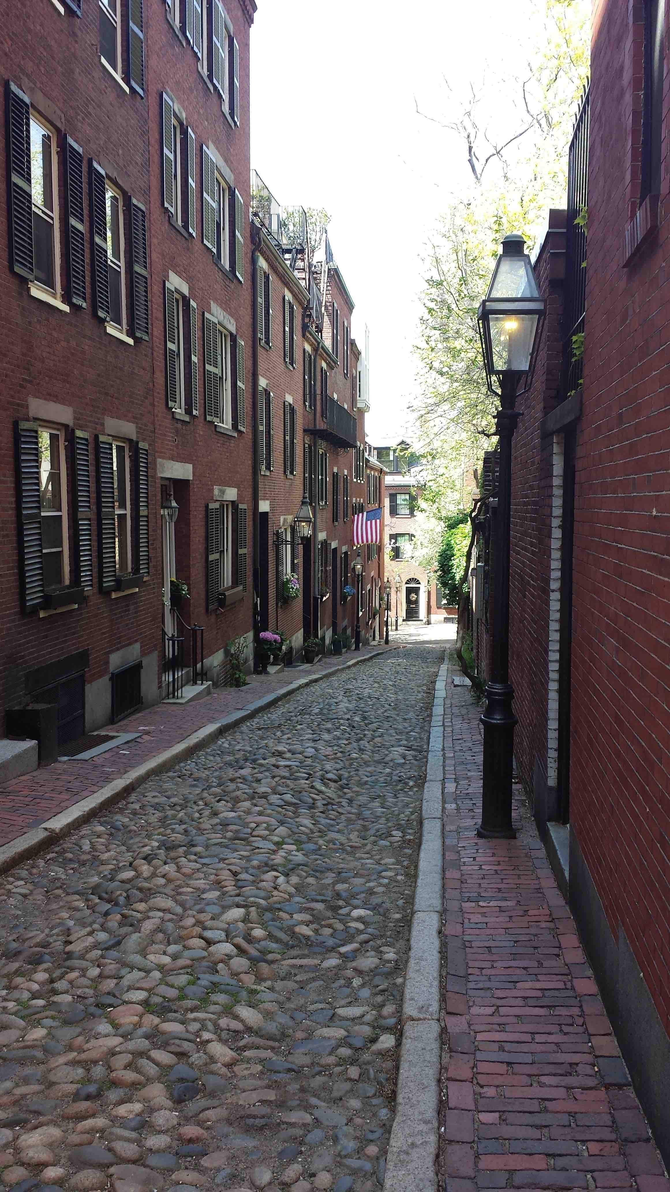 acorn street beacon hill