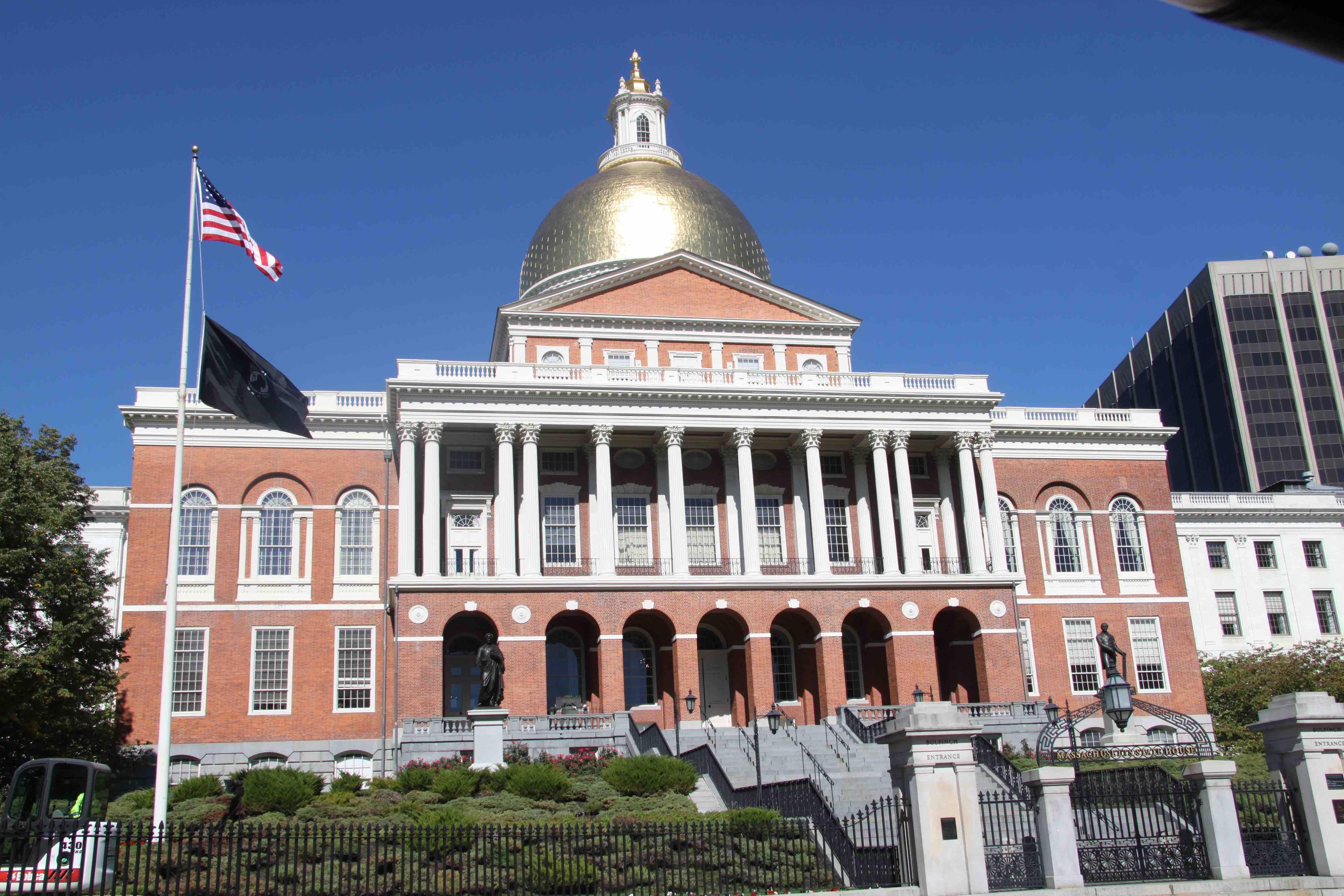 new state house beacon hill boston