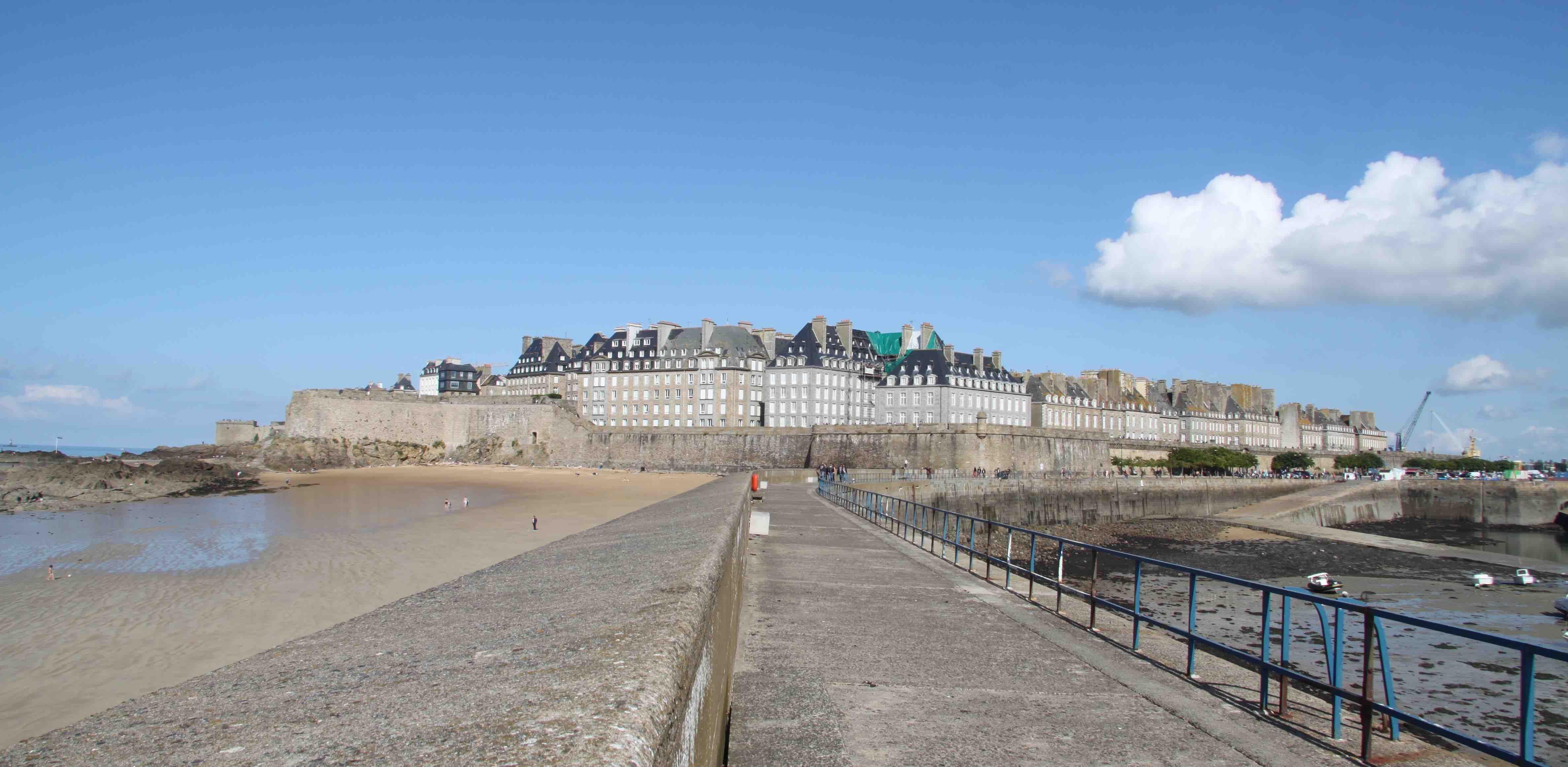 Plage Saint Malo
