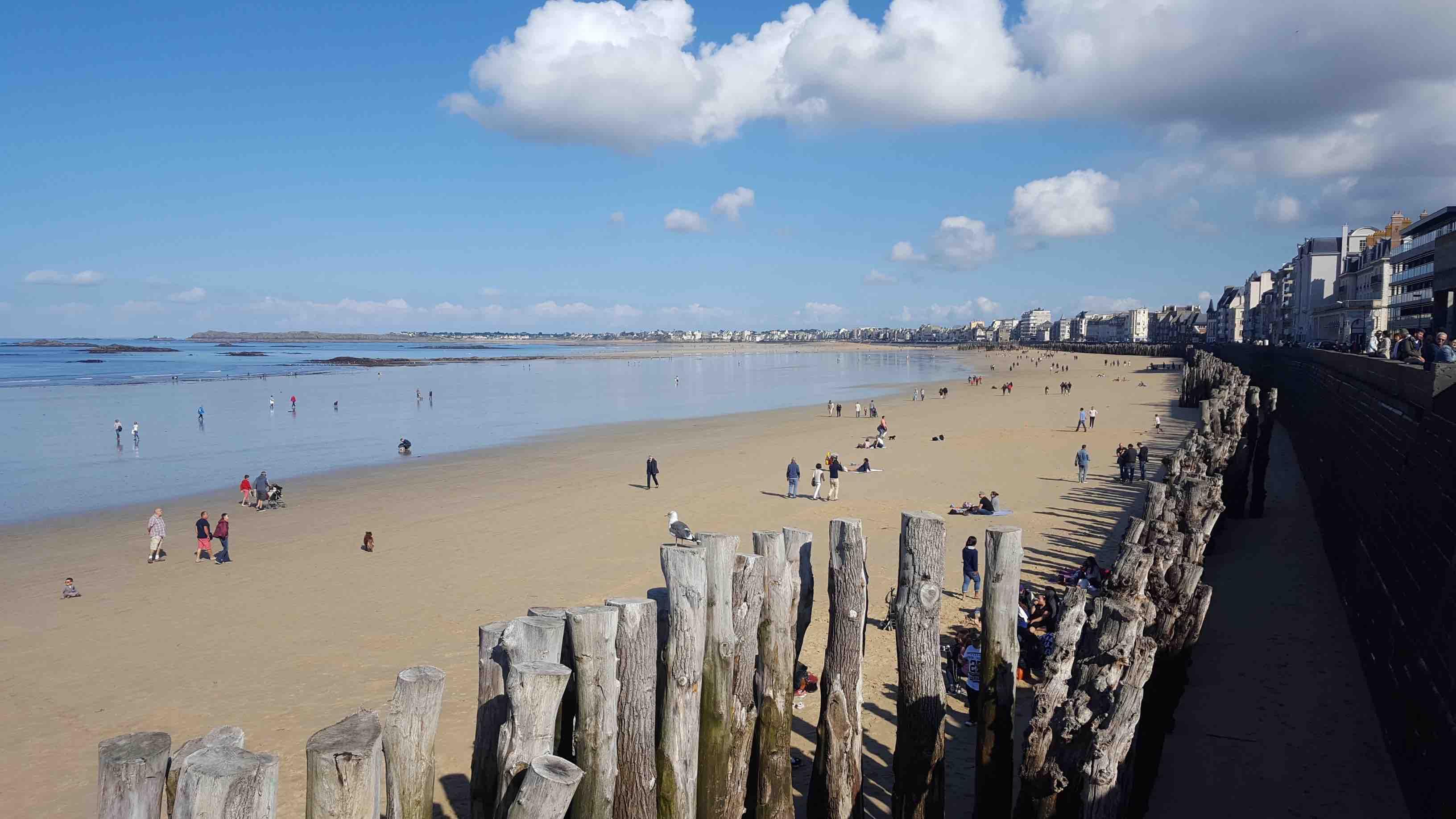 Les plages de saint malo intra muros laquelle choisir for Ambiance carrelage saint malo