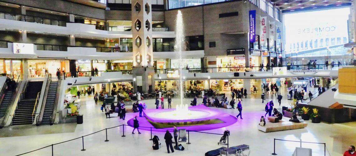 centres commerciaux Montreal
