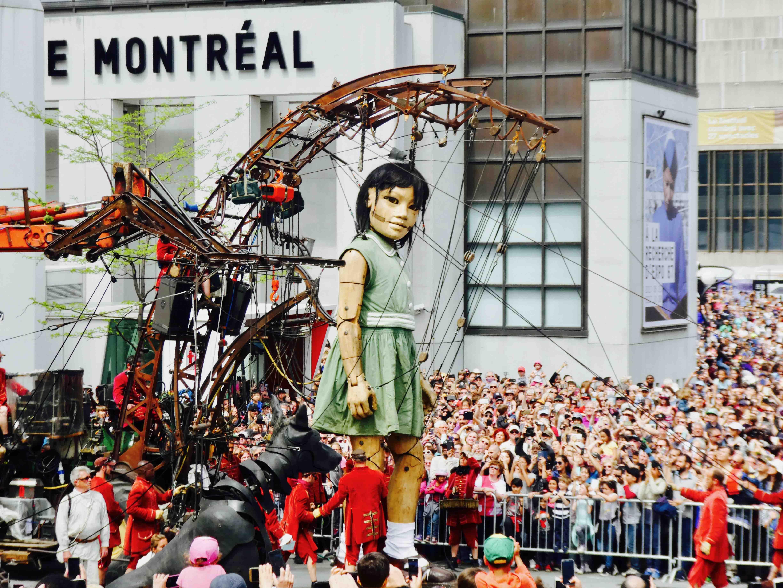 Les géants de Nantes
