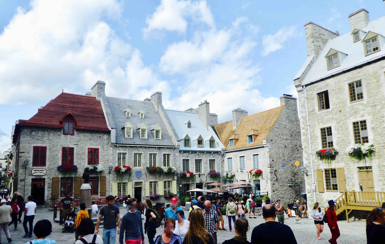 centre-ville du vieux Québec