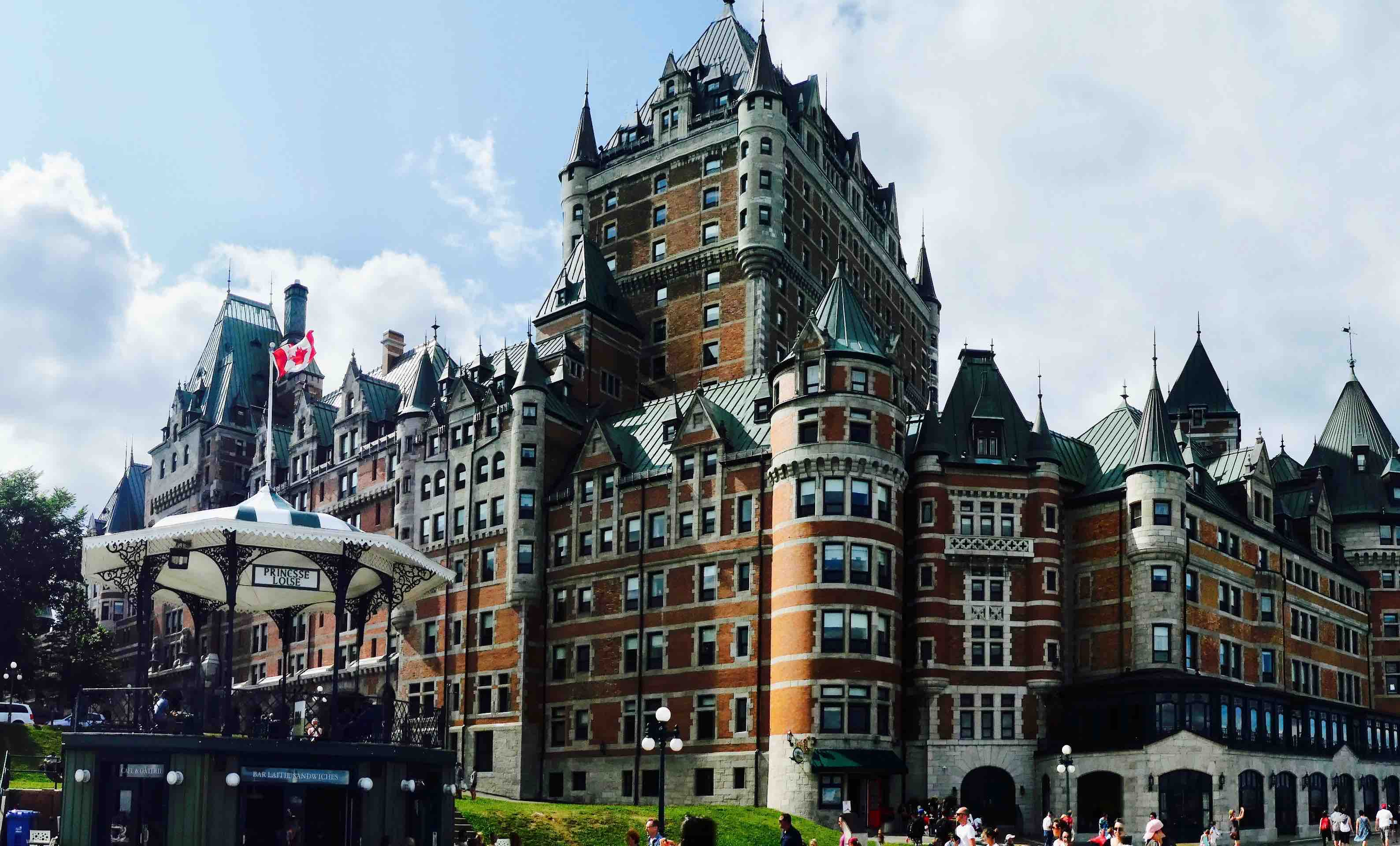 Québec chateau frontenac