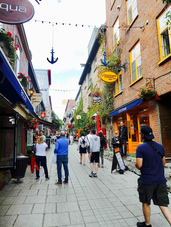 visiter le vieux Québec