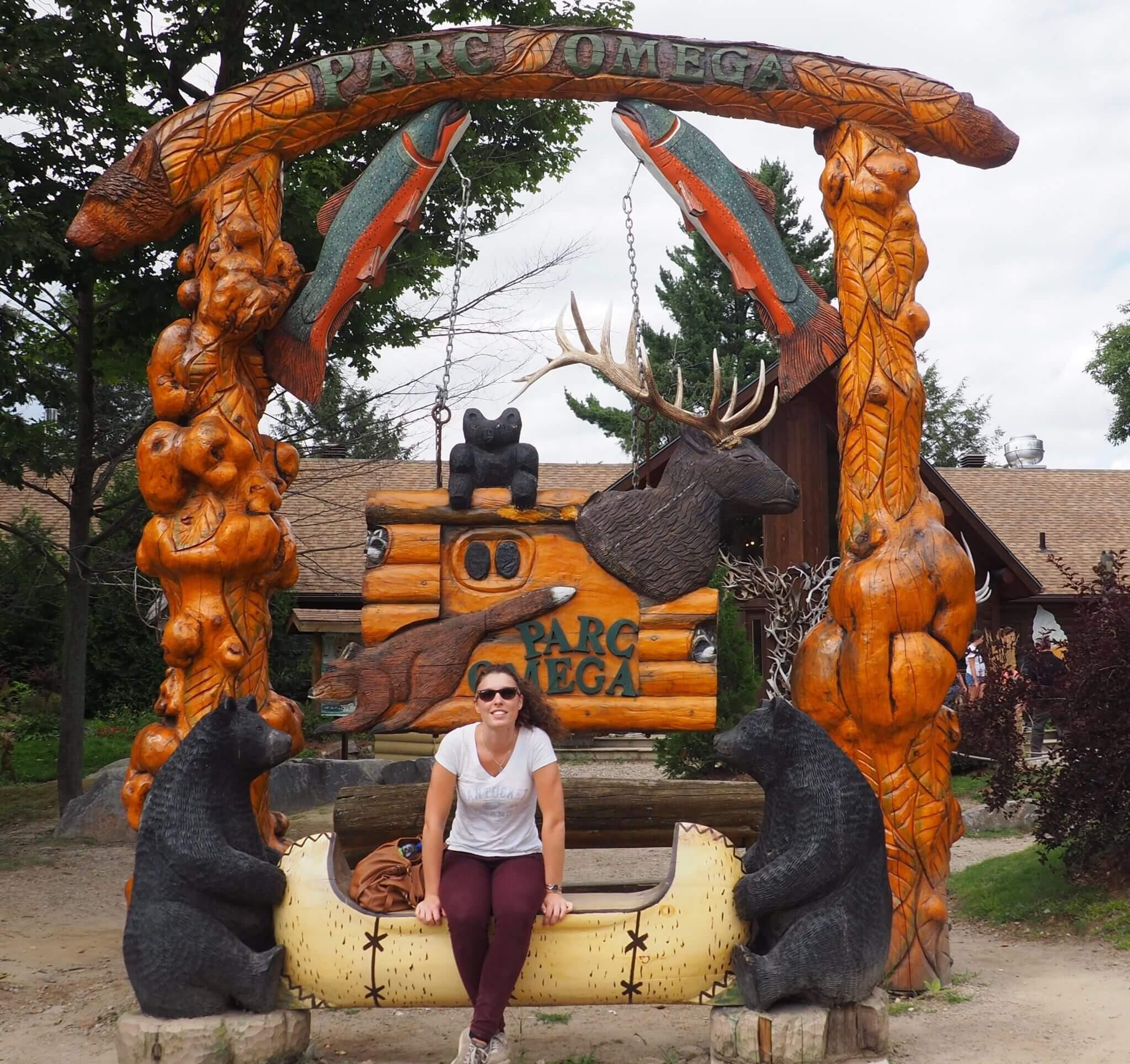 Parc Oméga visite