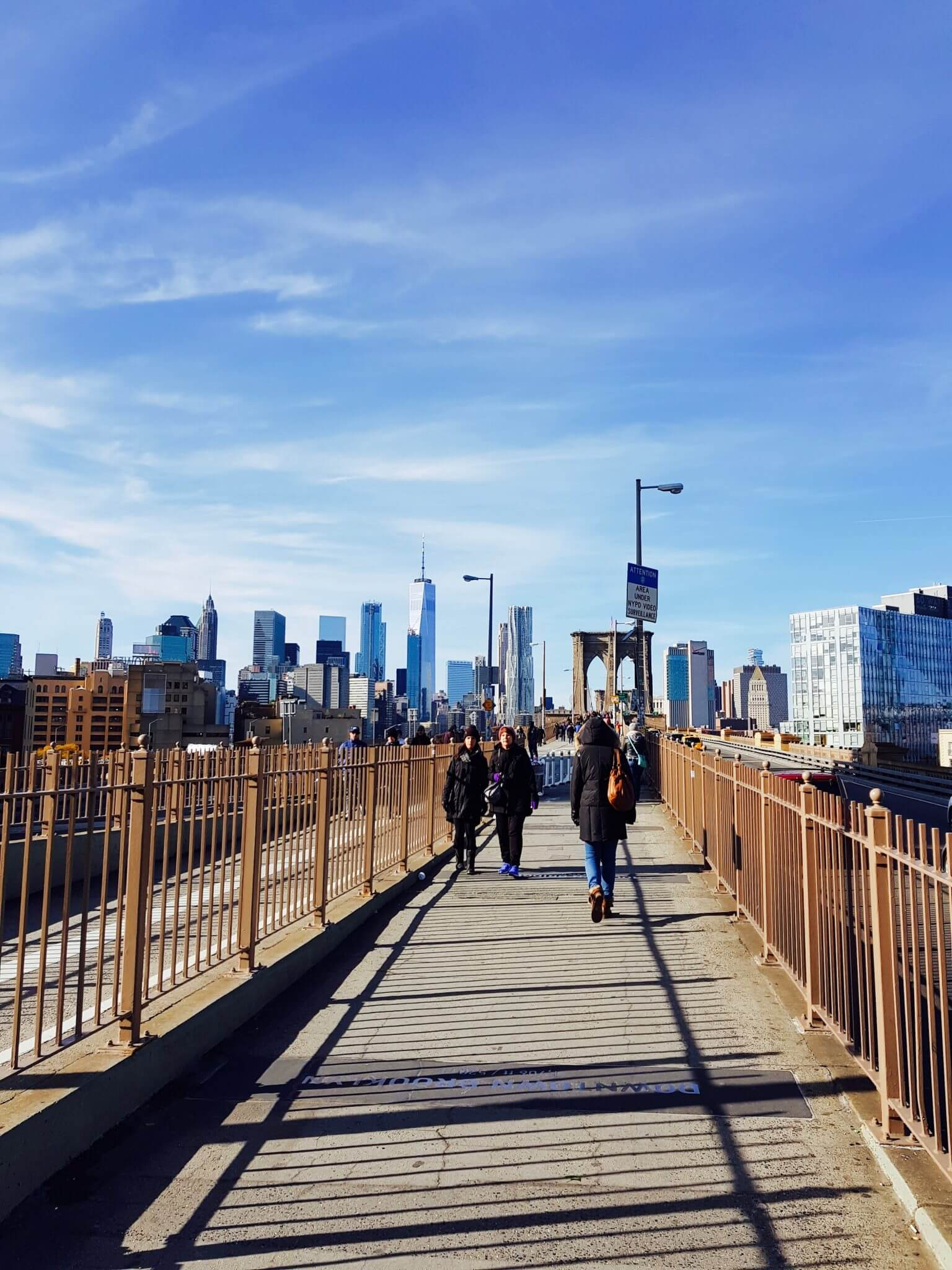 aller sur le brooklyn bridge