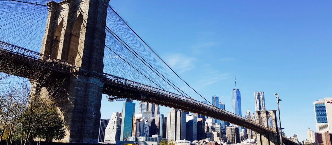 traverser le brooklyn bridge à new york