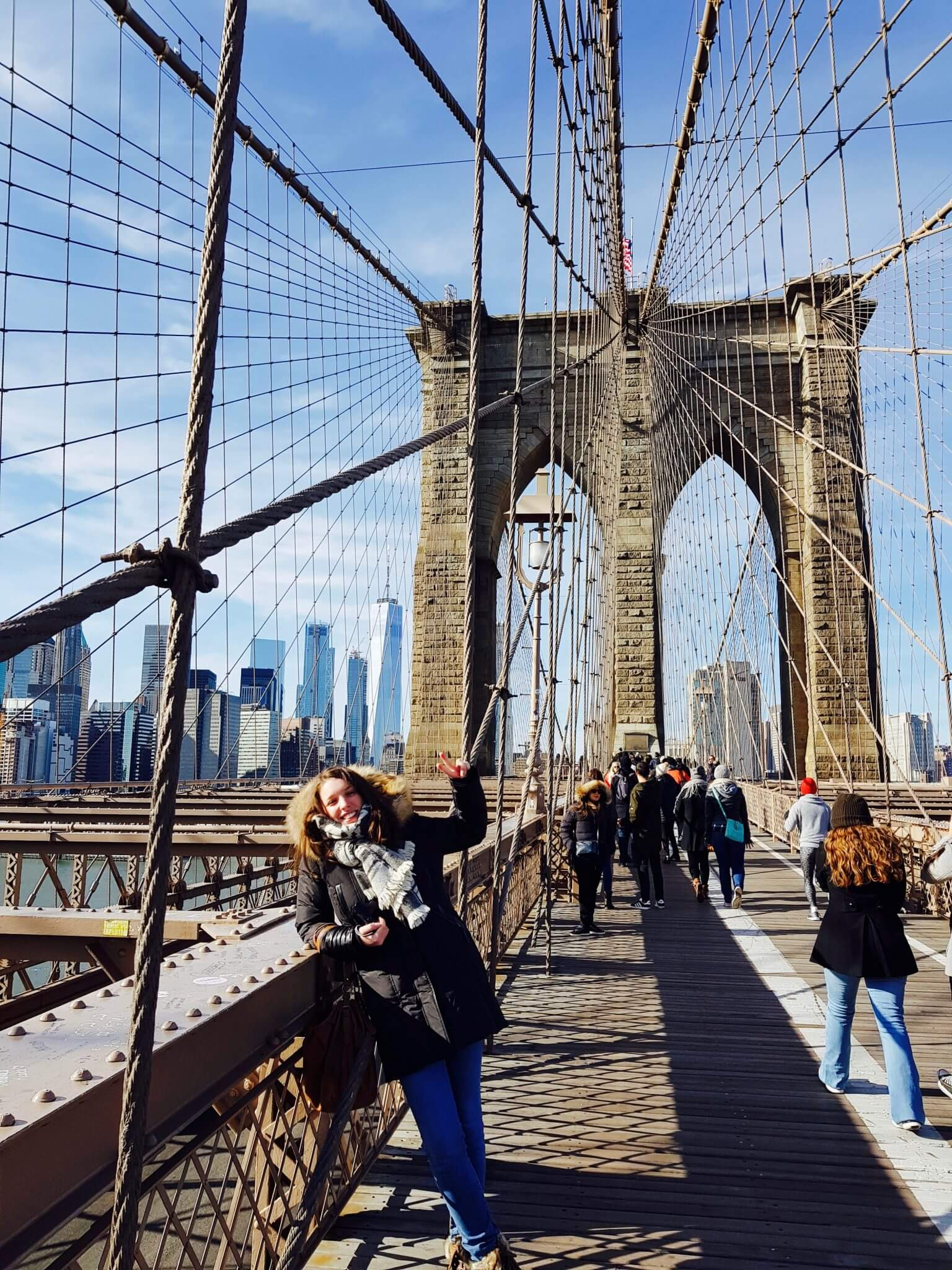 traverser le brooklyn bridge