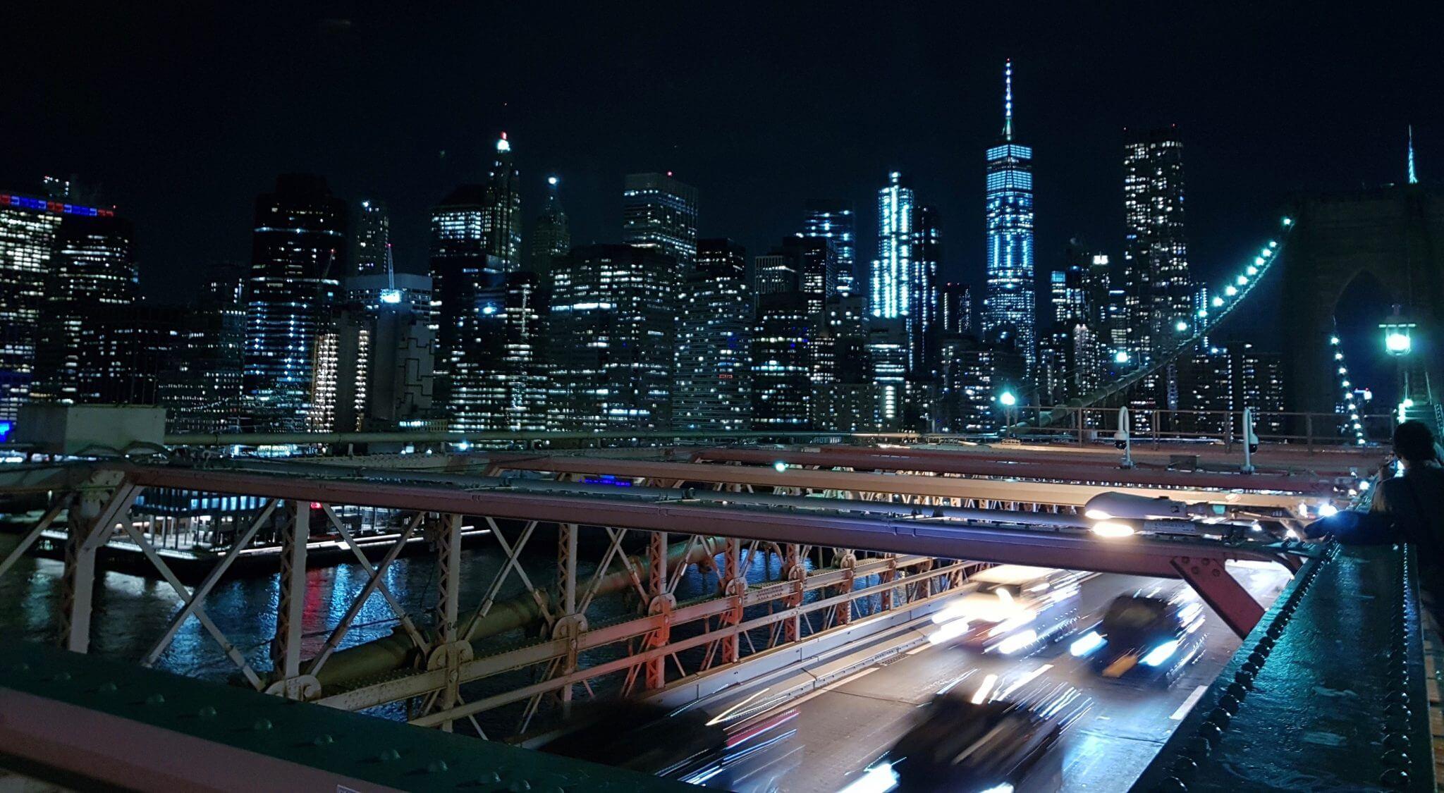 brooklyn bridge de nuit
