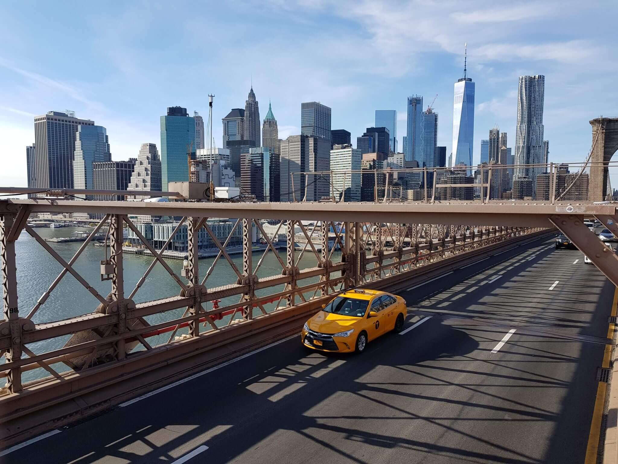 Brooklyn Bridge visiter new york