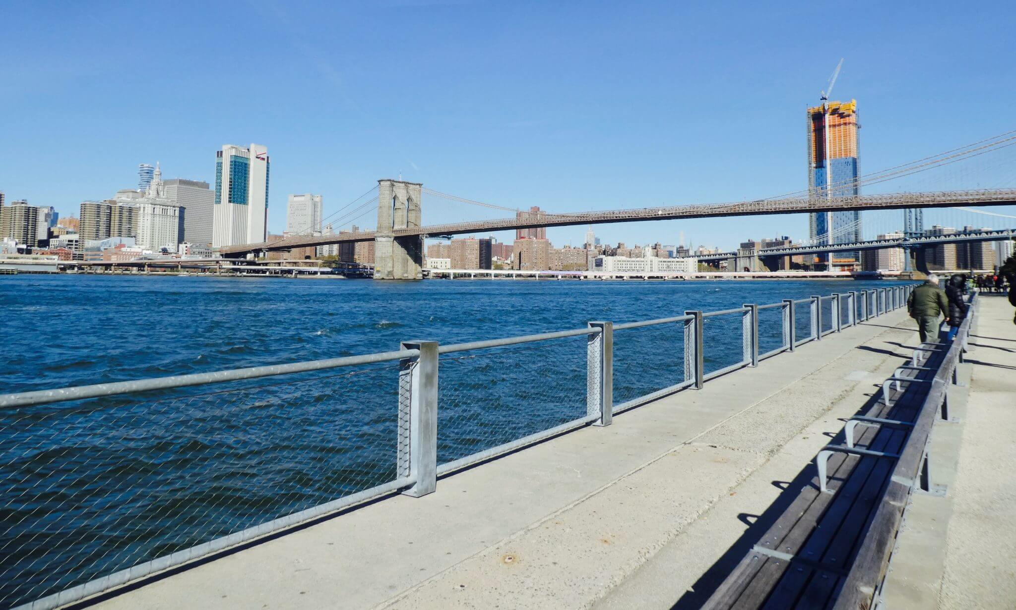 Brooklyn Heights Promenade visiter brooklyn