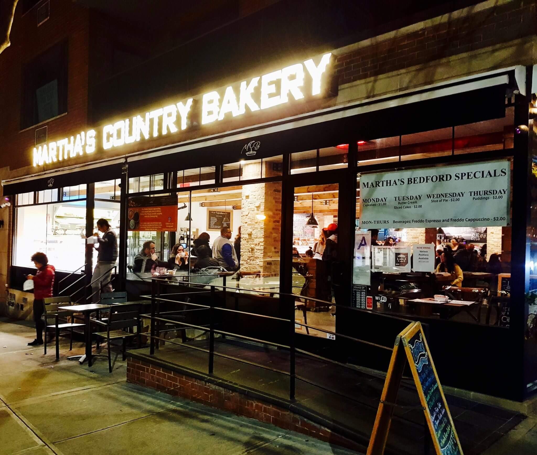 Où manger un cheesecake à New-York ? Martha's Country Bakery