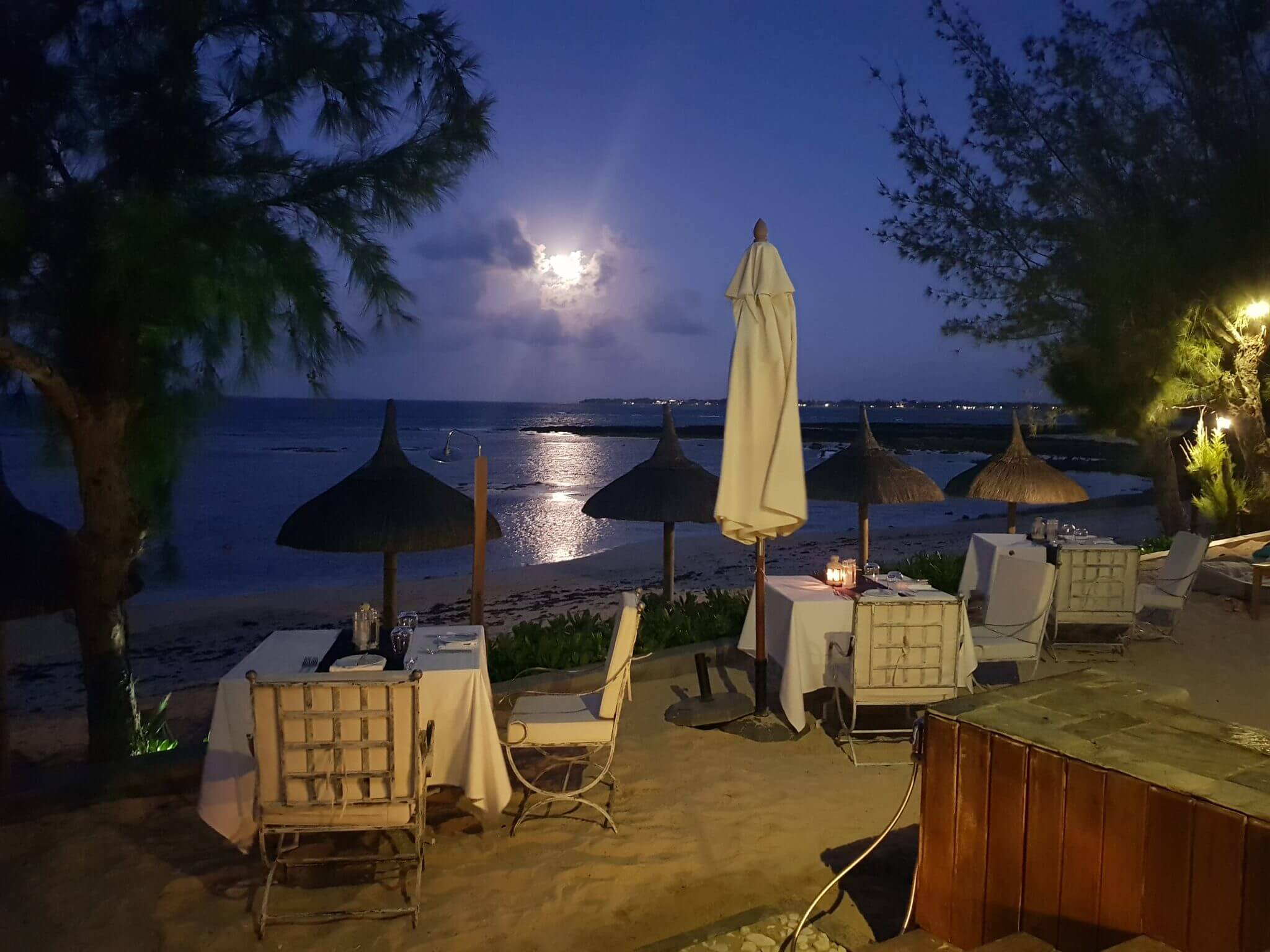 diner plage seapoint boutique hotel ile maurice