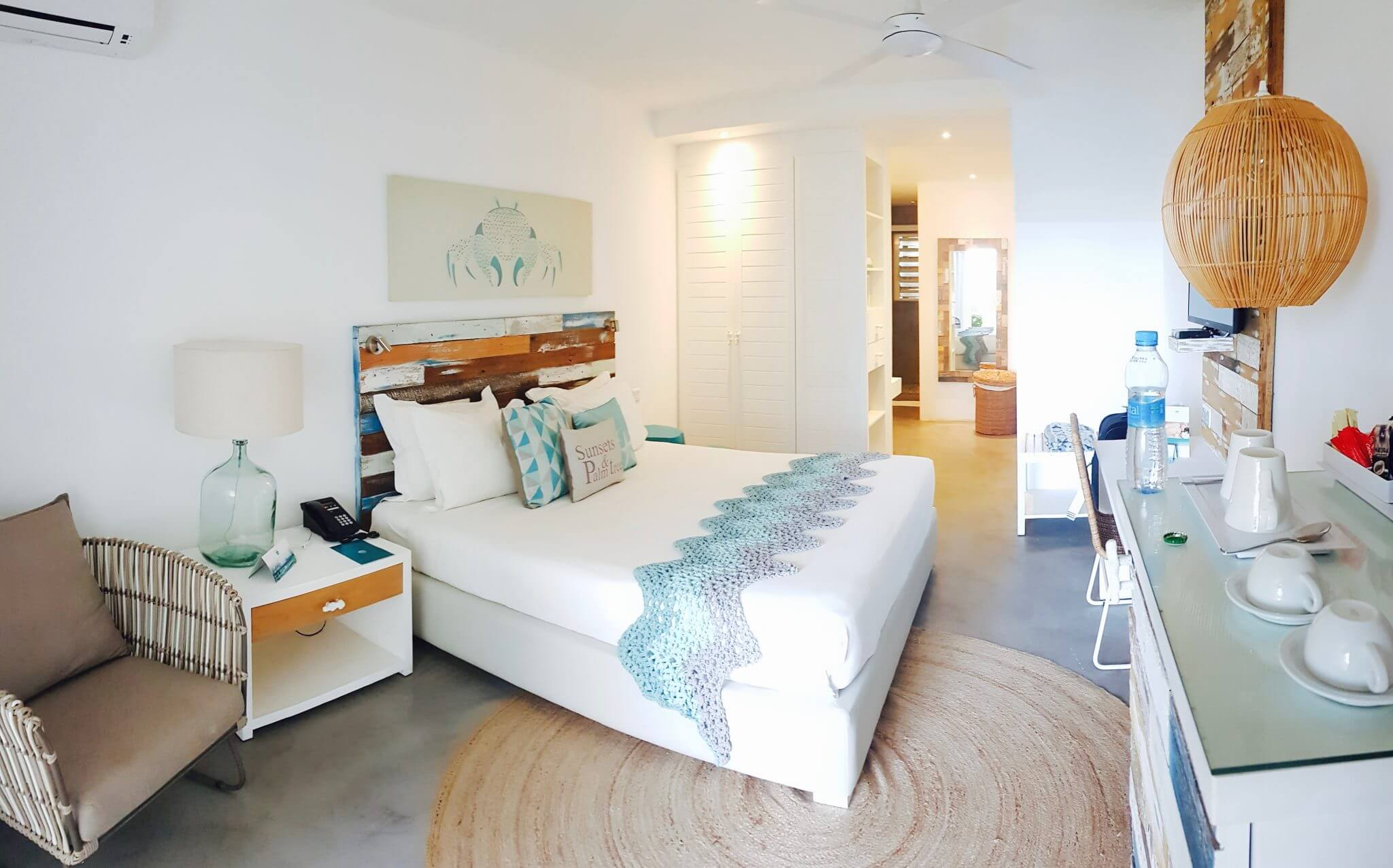 chambre deluxe seapoint boutique hotel ile maurice