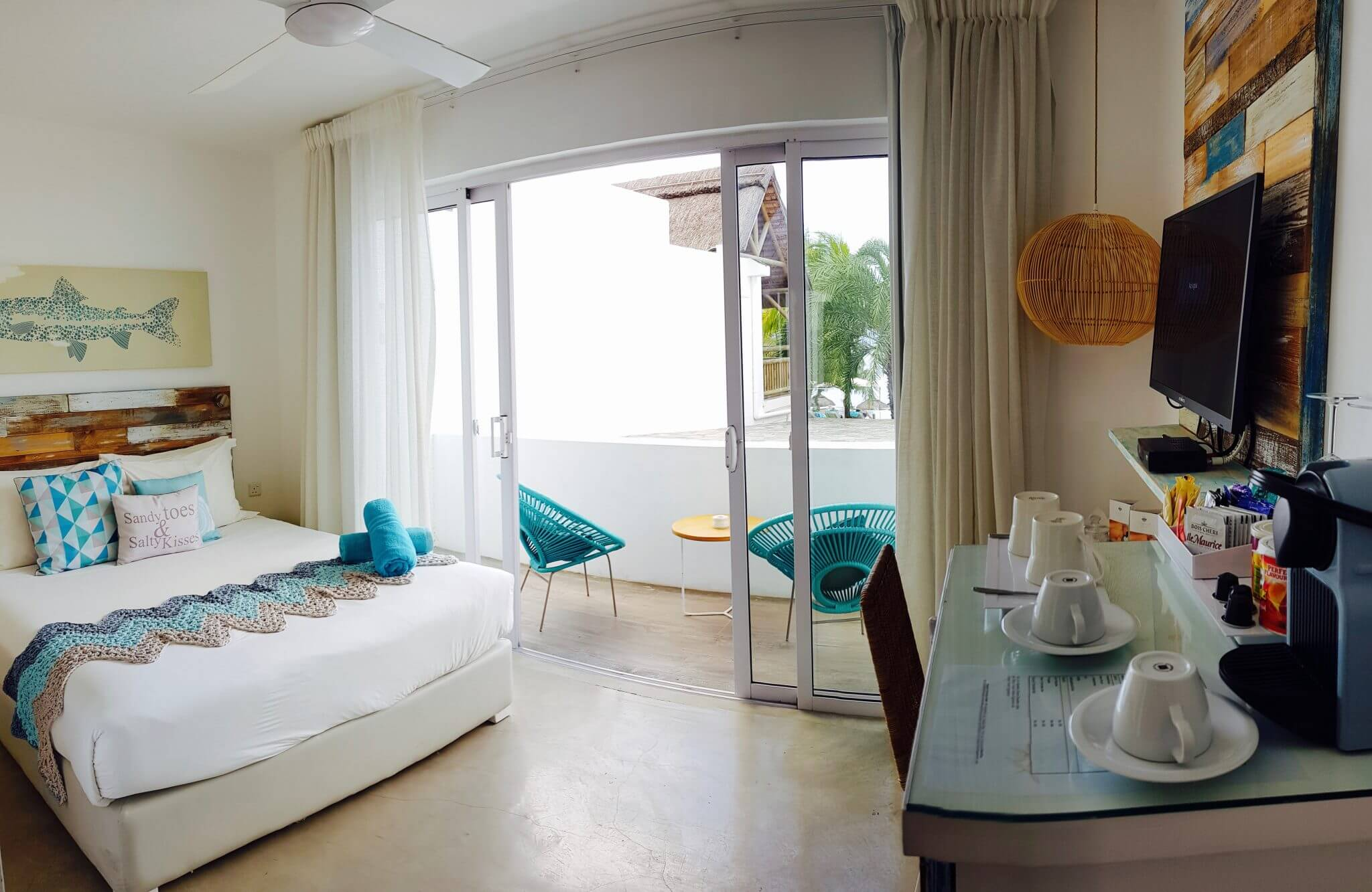 chambre standard seapoint boutique hotel ile maurice