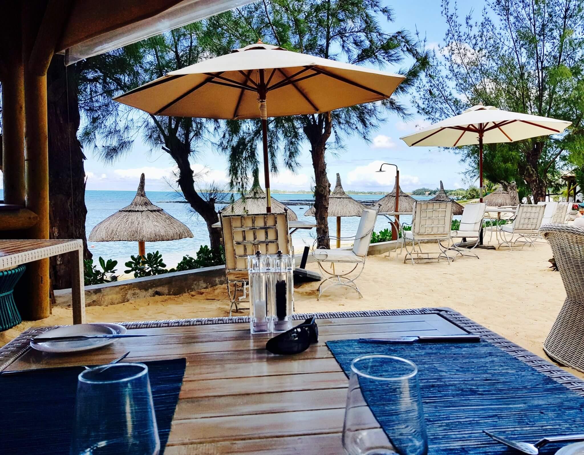 déjeuner seapoint boutique hotel ile maurice