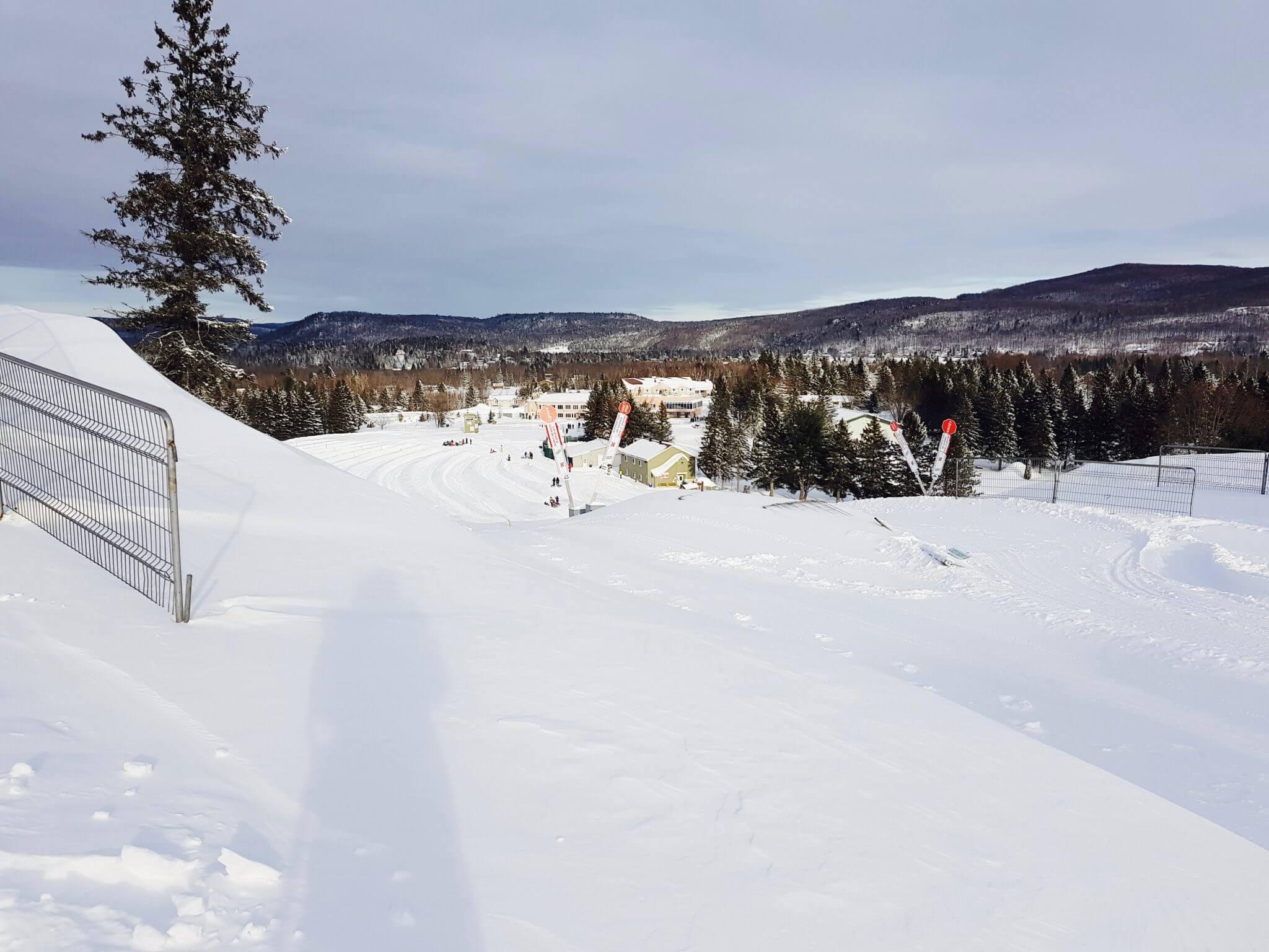 bouée sur neige proche montréal
