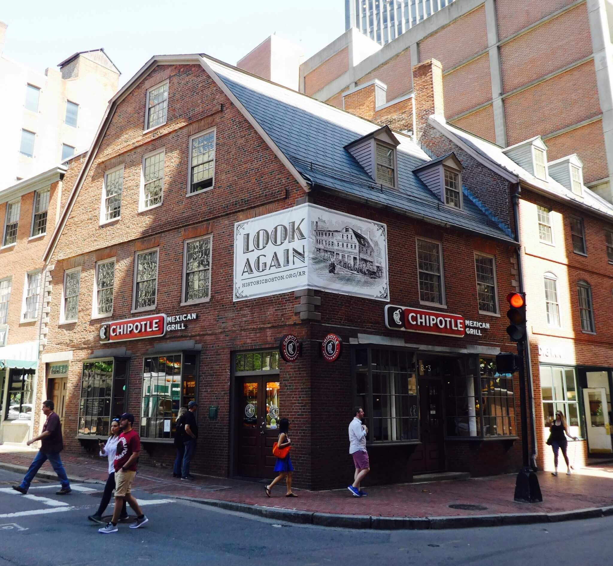 freedom trail Old Corner Bookstore