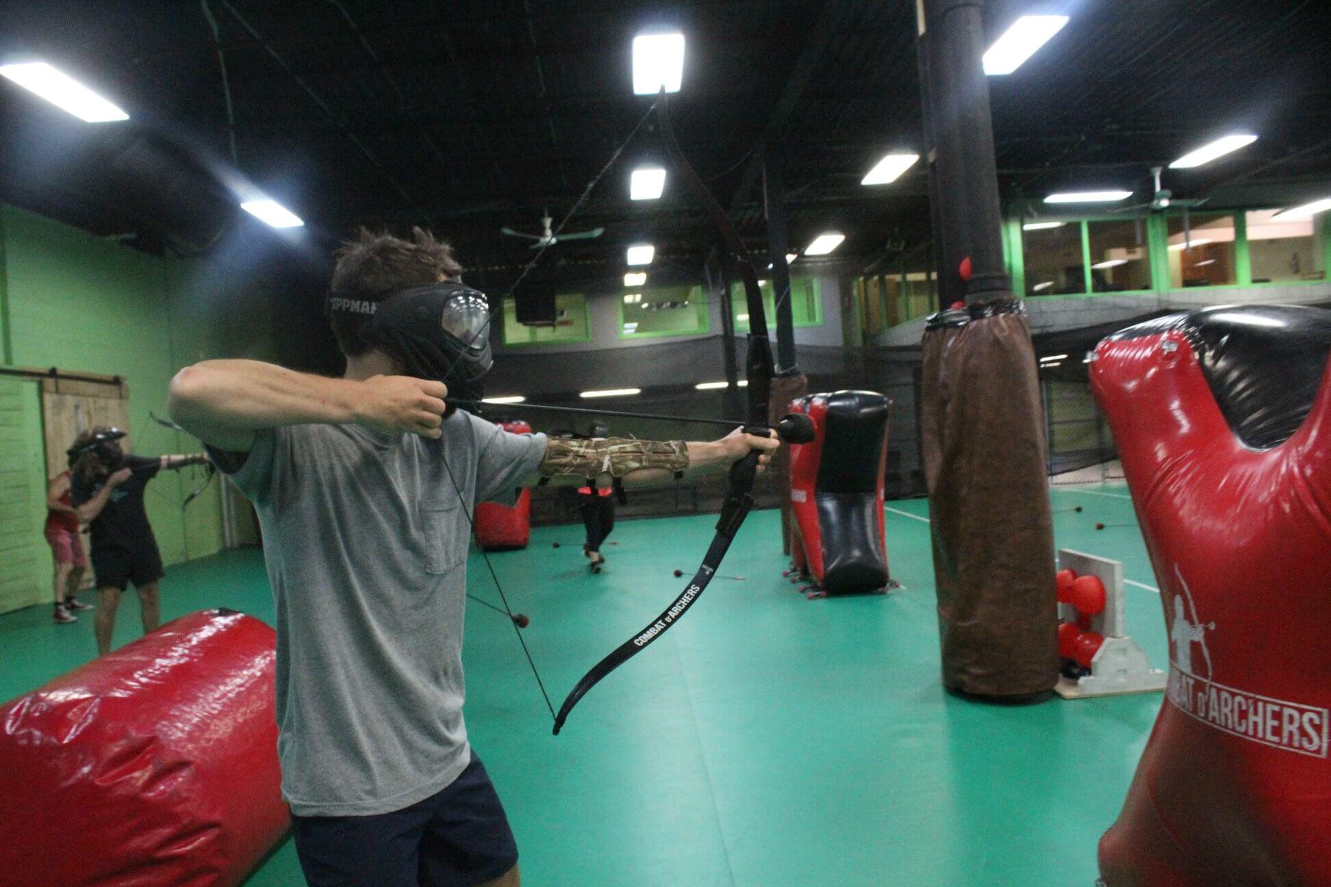 faire du combat d'archer à montréal
